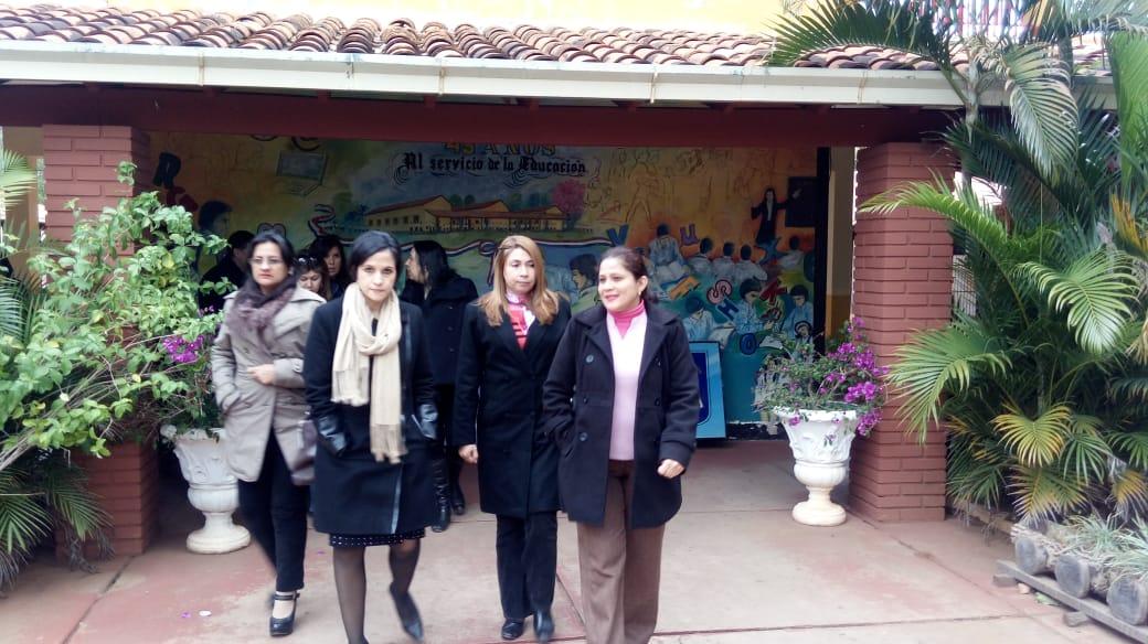Visita de la Ministra de Hacienda Lea Giménez