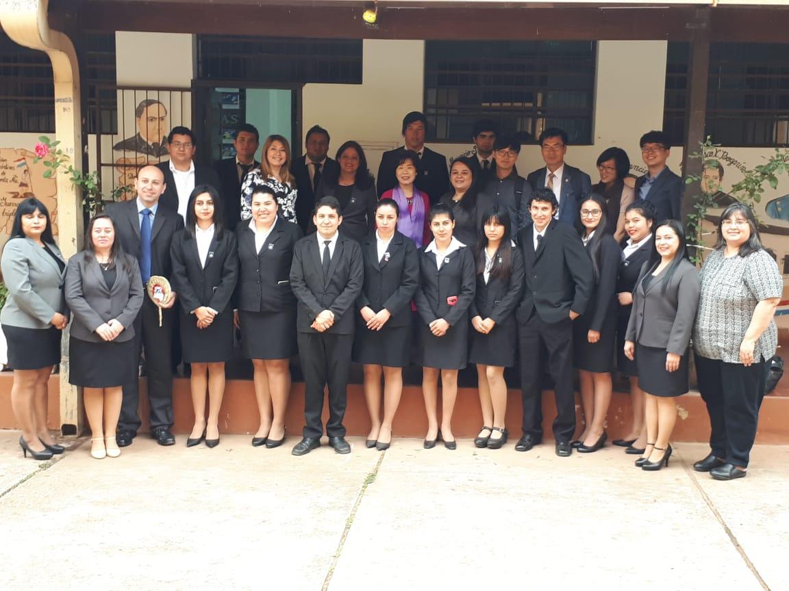 Visita de una Delegación de docentes de Corea del Sur