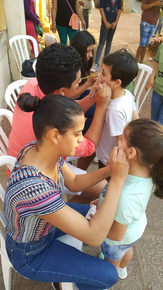 Participación en el Día del Niño organizado por la Municipalidad de Paraguarí